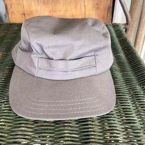 Vintage Gray Military Cadet/Legionnaire Style Hat